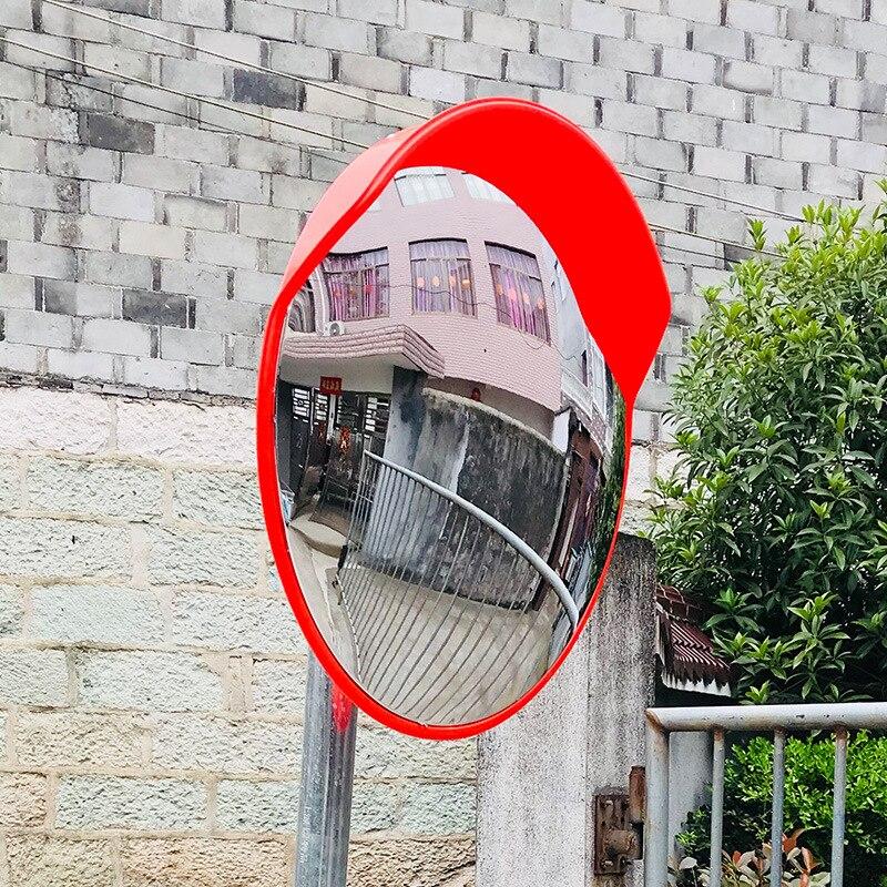 Чжуань wan jing изгиб сферическое зеркало для стоянки круг отмостки широкоугольный Road слепая зона Водонепроницаемый вогнуто-выпуклая линза Sma