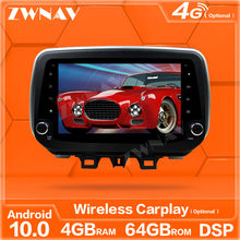 carplay Android 10.0 screen multimedia player For Hyundai Tucson 2018 2019 2020 GPS navigation Auto Audio Radio stereo head unit(China)