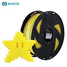 XVICO качественные брендовые 3D печати PLA нити 1,75 мм Точность ±0. 02 мм 1 кг/2.2lb катушки многоцветный