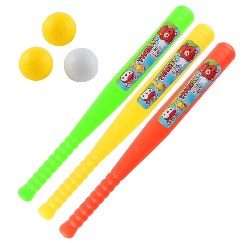 Children's Outdoor Sports And Sports Goods Mini Baseball Casual Plastic Toy Baseball Set