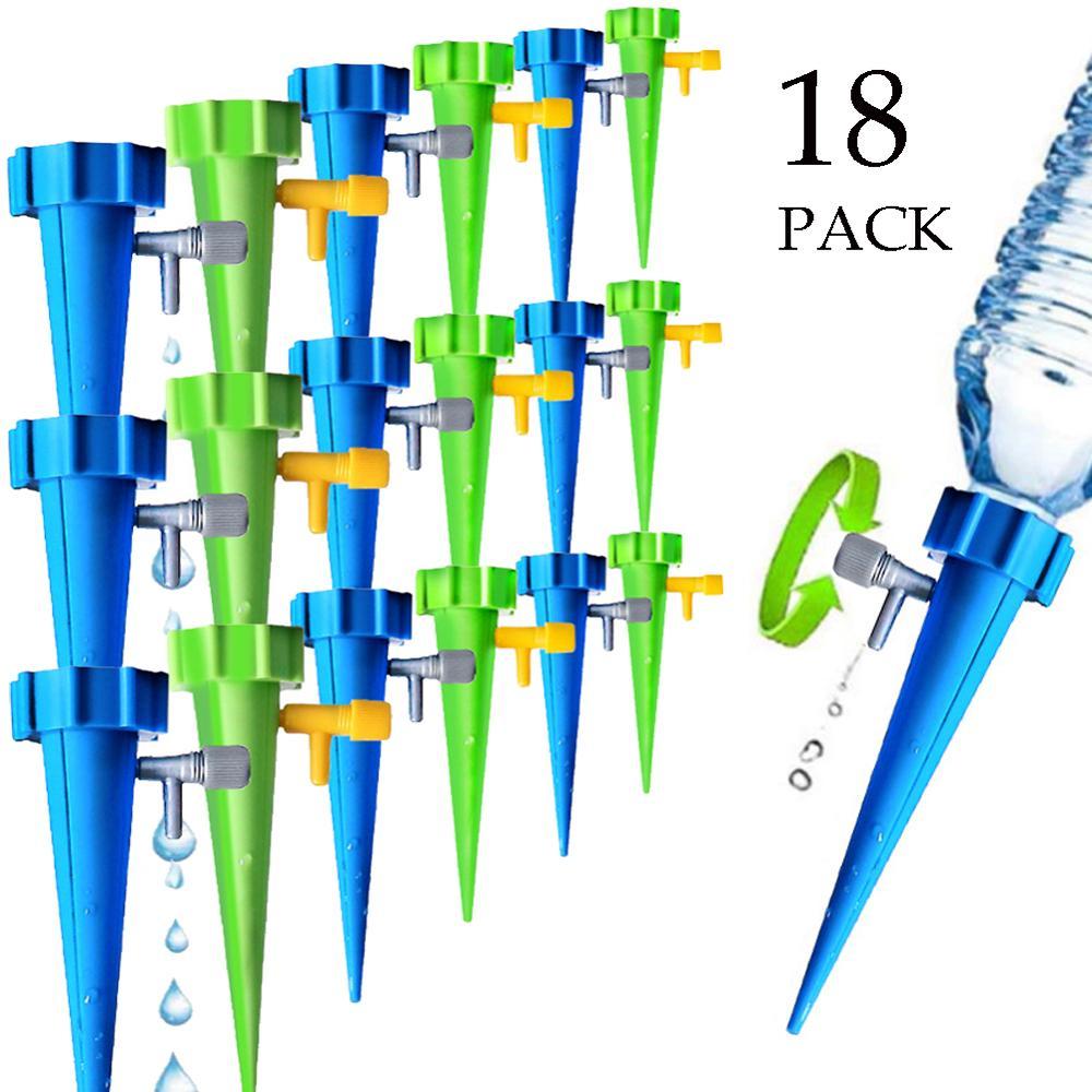 6/12/18 Pcs Zelfstandige Auto Drip Irrigatie Watering Systeem Automatische Watering Spike Voor Planten Bloem indoor Huishoudelijke