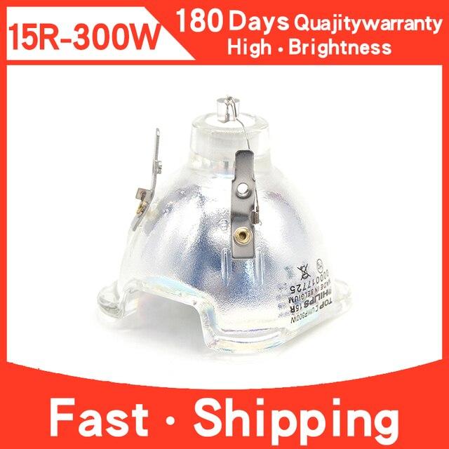 100% uyumlu snlamp yüksek kaliteli 15R lamba MSD Platinum 15R 300W Sharpy hareketli kafa işın ampul sahne işık R15
