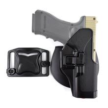 Tactical Holster CQC Pistol Gun Right Hand Paddle Waist Belt Holsters for Glock 17 19 Colt 1911 Beretta M9 M92