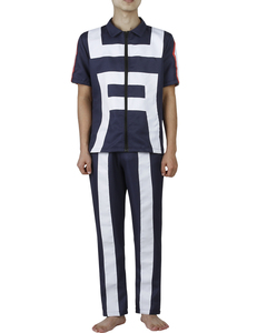 Image 5 - Anime Boku No Hero Bakugou Katsuki/Iida Tenya/Todoroki Shouto Cosplay Costume My Hero Academia Sportswear Tops+Pants