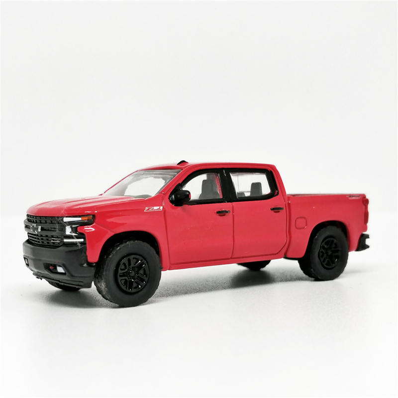 Greenlight 1:64 2019 Chevrolet Silverado SAXE Pickup Truck No Box