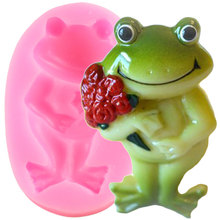 Gumpaste Mold Cake Chocolate Decorating-Tools Sugar-Craft Candy Clay Rose-Flower Wedding-Fondant