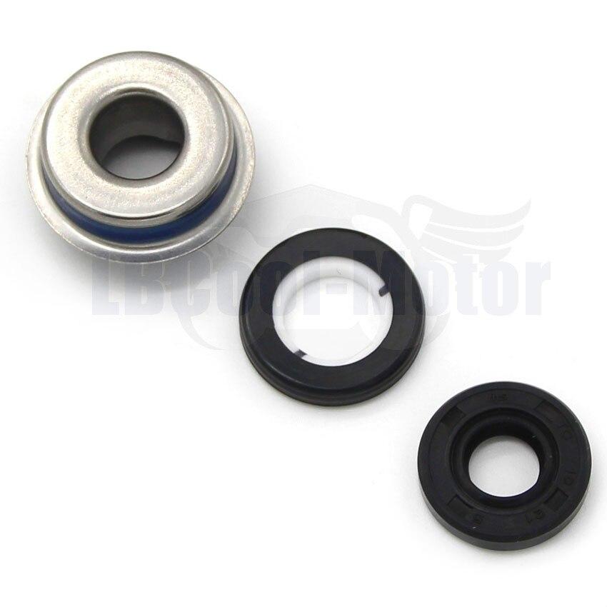 Water Pump Seal Set For Suzuki 17470-14100 02F11 GSR400 GSR600 GSR750 GSX650F 2008-2016 GSX1250 2010-201 GW250 Inazuma 2013-2016