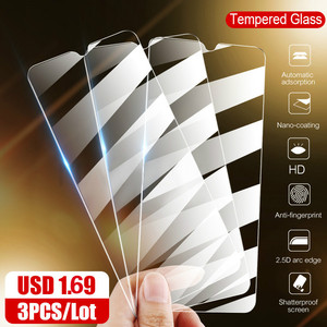 3Pcs Tempered Glass For Xiaomi Redmi Note 9s 9 8 Pro Glass Film For Redmi 7A 8A K20 Note 8T 6 7 Pro Full Cover Screen Protector