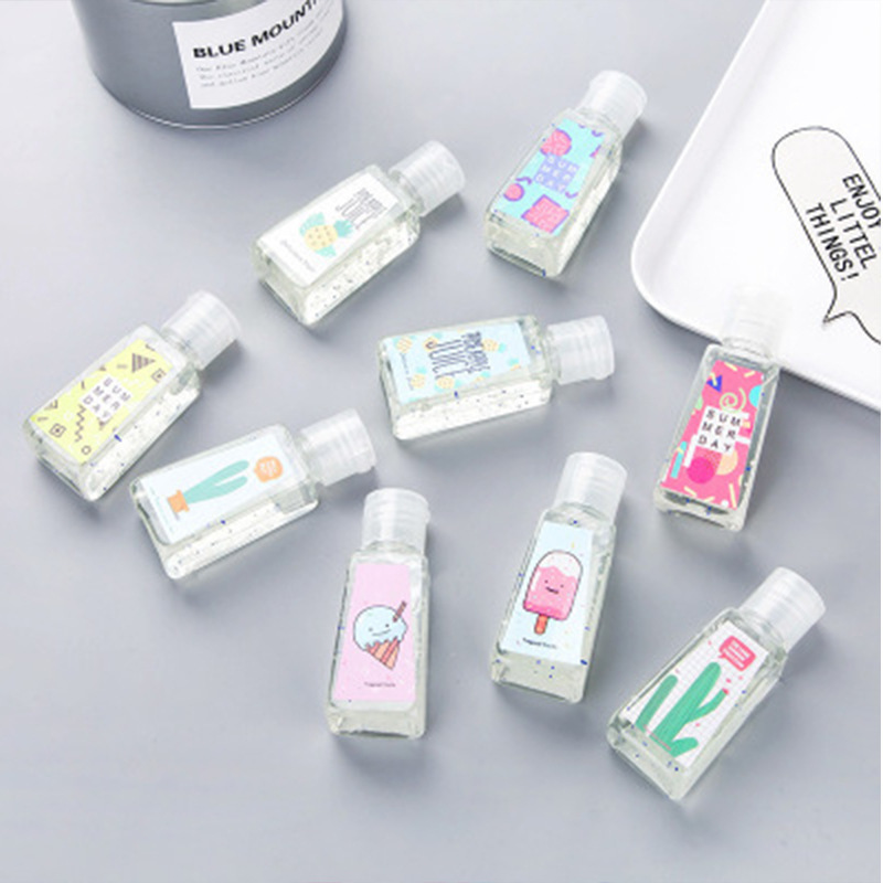 Disinfection Bathroom Supplies Cartoon Cute Animal Fruity Portable Disposable Hand Sanitizer