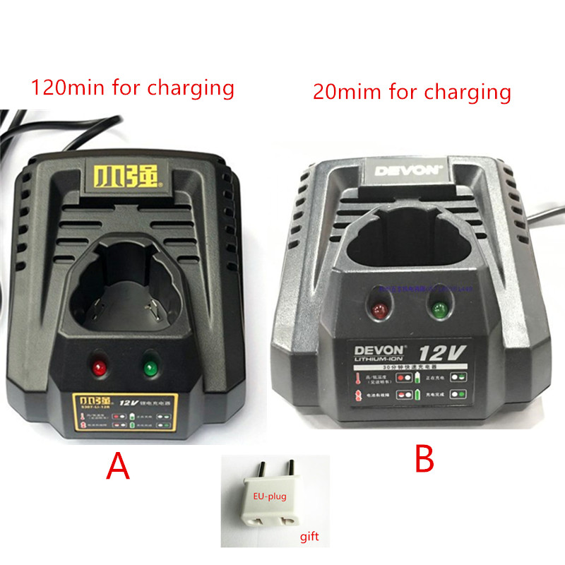220-240V Charger  for DEVON 10.8V 12V 20V5718-LI-20S 5326 5161 5307 5241 5262 5307-Li-12F 5307.1 charger