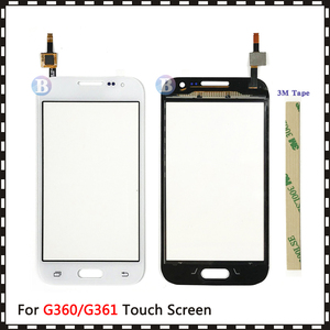 """Image 3 - 4.5 """"Voor Samsung Galaxy Duos Core Prime G360 G360H G3608 G361 G361H G361F Touch Screen Digitizer Sensor Glas Lens panel"""