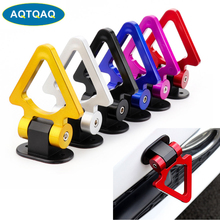 1Pcs ABS Universal Racing Towing Car Tow Hook Auto Rear Front Trailer Simulated Multi Colors abs metal colorful tow hook allen wrench car auto trailer decorative tow hook universal for truck suv front bumper automotive