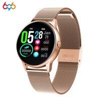 696 DT88 smart watch kobiet 1.22 cal kolorowy ekran kobiet urządzenie pulsometr sport Smartwatch inteligentny zegarek tętna wodoodporny nadające się do noszenia w Inteligentne zegarki od Elektronika użytkowa na