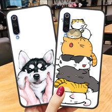 Soft Silicone Phone Case for Huawei Y6 Y5 Y7 Y9 2019 Y6 Y5 2018 case y6 2019 3D Matte Cartoon Back Cover huawei y7 y9 2019 Case(China)