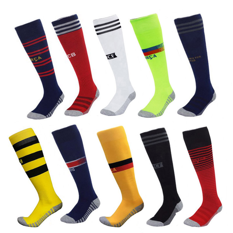 Women Men Sport Socks Male Cotton Polyester Competition Race Course Football Stocking Soccer Racing Stocking