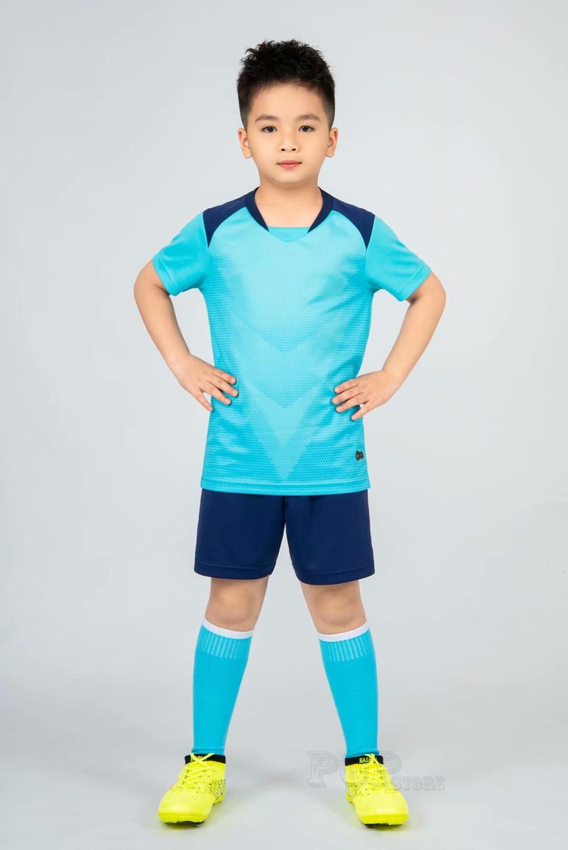 Kids football Uniforms boys girl soccer Jerseys Custom child Soccer Jersey Set Sportswear t-shirt sports suit new style 27