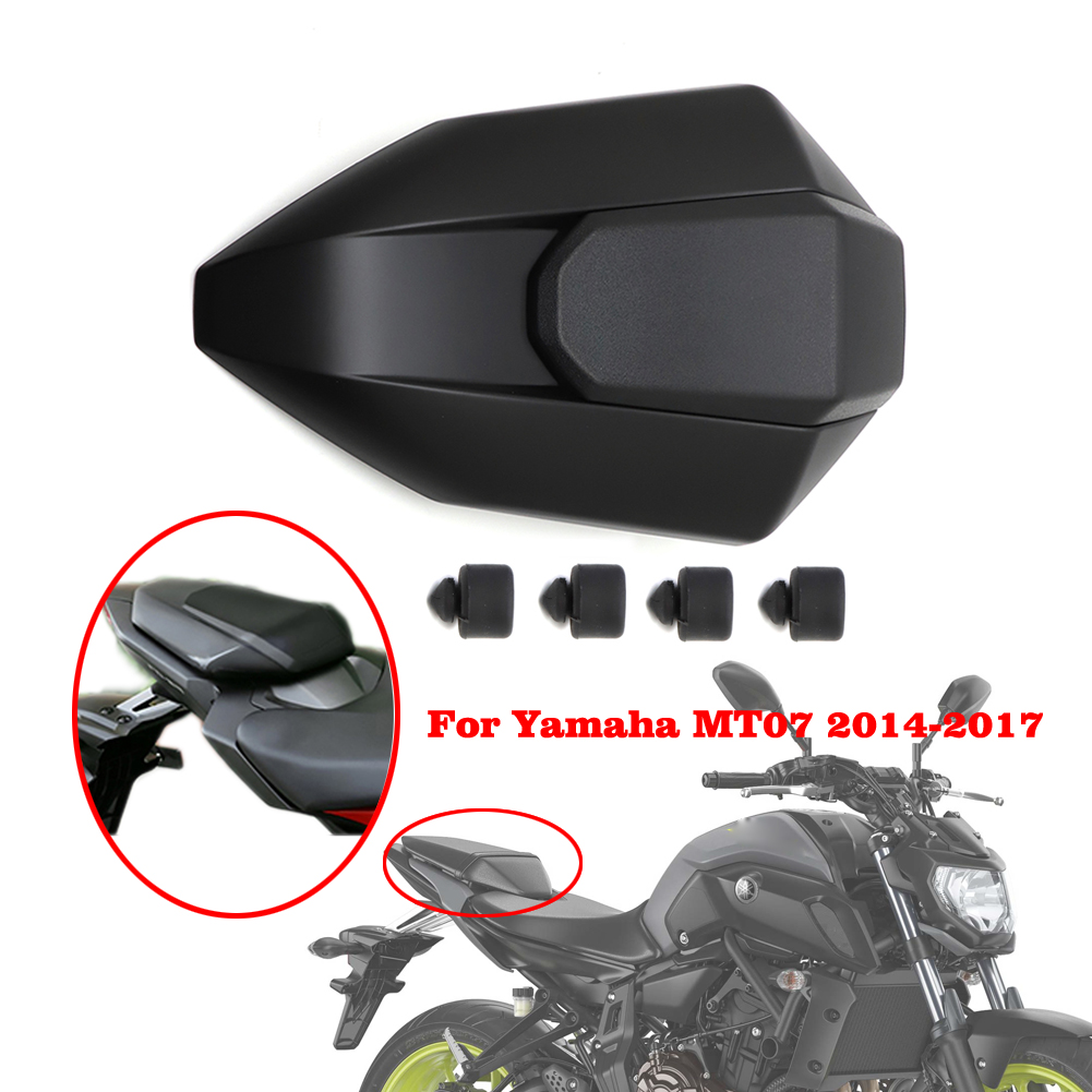 Motorcycle Rear Seat Cowl Cover Painted Fairing ABS Plastic For Yamaha FZ-07 MT-07 MT07 FZ07 FZ07 FZ 07 2014 2015 2016 2017
