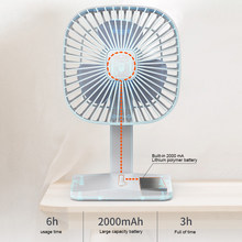 USB Desktop Fan dengan Ponsel Pemegang Stand Mini Bersuara Air COOLER Pribadi Portable Cooling Fan Super Bisu Laptop Cooler(China)