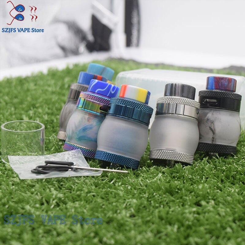 Dead Rabbit BF RDA Atmoizer Tank Aluminum Supports Single/Dual Coil Vape Fit For Elctronic Cigarette Box Mod Vape Vs Zeus Kylin