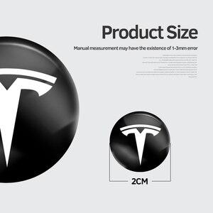 Image 2 - 4Pcs ใหม่สไตล์ PVC รถประตู Anti Abrasion ปะเก็นสติกเกอร์โลโก้สำหรับ Tesla รุ่น3รุ่น X รุ่น S รุ่น Y อุปกรณ์เสริมอัตโนมัติ