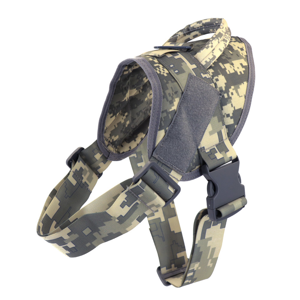 Dog Harness German Shepherd Pet Dog Collar Harness Service Dog Vest With Handle Accessories For Small Dogs