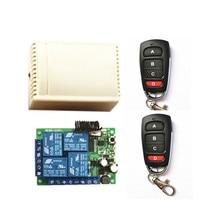 2 pieces of 1527 learning code remote control. AC 85V~250V 220V 4 RF Channel Receiver ac 85v 250v 110v 220v 250v 1ch rf wireless remote control system radio switch remote control switch learning code receiver