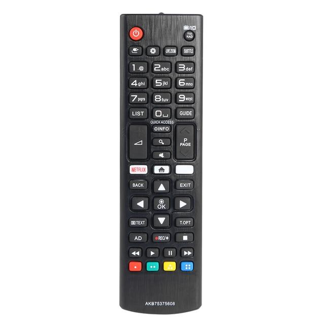 التحكم عن بعد AKB75375608 ل LG 32Lk6100 32Lk6200 43Lk5900 43Lk6100 42Uk6200 49Uk6200 55Uk6200 ل LG جهاز التحكم عن بعد في التلفزيون