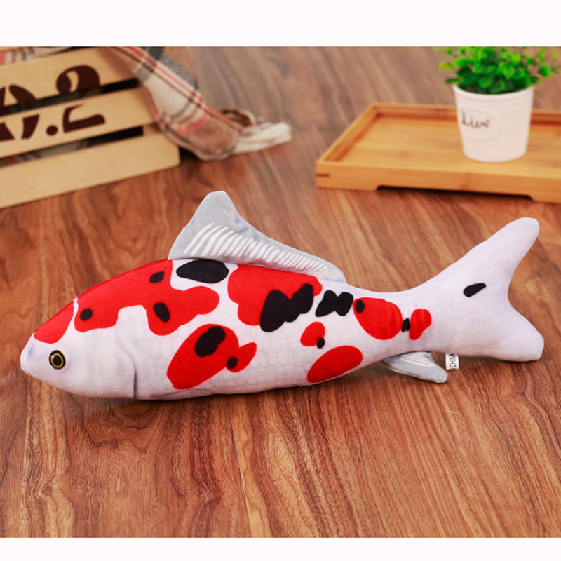 20/30/40 Cm Simulation Fish Plush Animals Toys Carp/Grass Carp Pillow Plush Toys Funny Pet Animal Toys