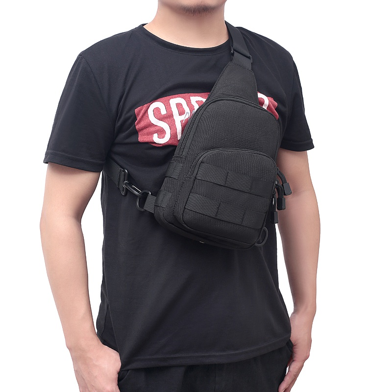 Professional Outdoor Chest Bag Climbing Diagonal Bag Single Shoulder Backpack Rucksacks For Sport Camping Hiking Traveling