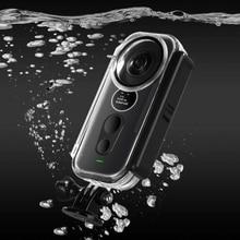 Новый водонепроницаемый корпус Insta 360 One X, защитный чехол для Insta360 One X, панорамная камера, футляр для дайвинга, аксессуары