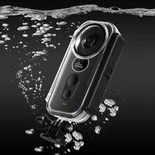 Yeni Insta 360 One X su geçirmez konut koruyucu kılıf kabuk Insta360 One X panoramik kamera dalış kutusu kapağı aksesuarları