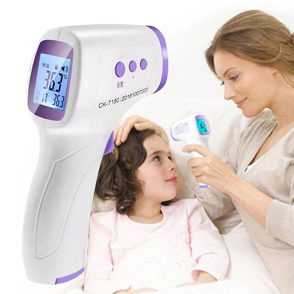 Free Shipping Forehead Thermometer Infrared Non Contact Thermometers Digital Handheld Temperature Gun Measure High Precision