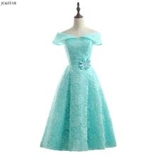 Turquoise Royal Blue Pink Red Green Bridesmaid Dress Tea Len