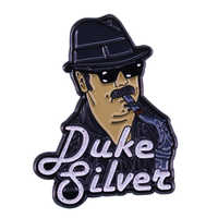 Ron Swanson Duke Silver's jazz lapel pin Parks and Recreation fandom art addition
