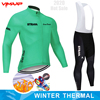 Inverno velo térmico 2020 strava ciclismo jérsei longo conjunto mtb roupas de ciclo roupas esportivas mountain bike ropa ciclismo 18