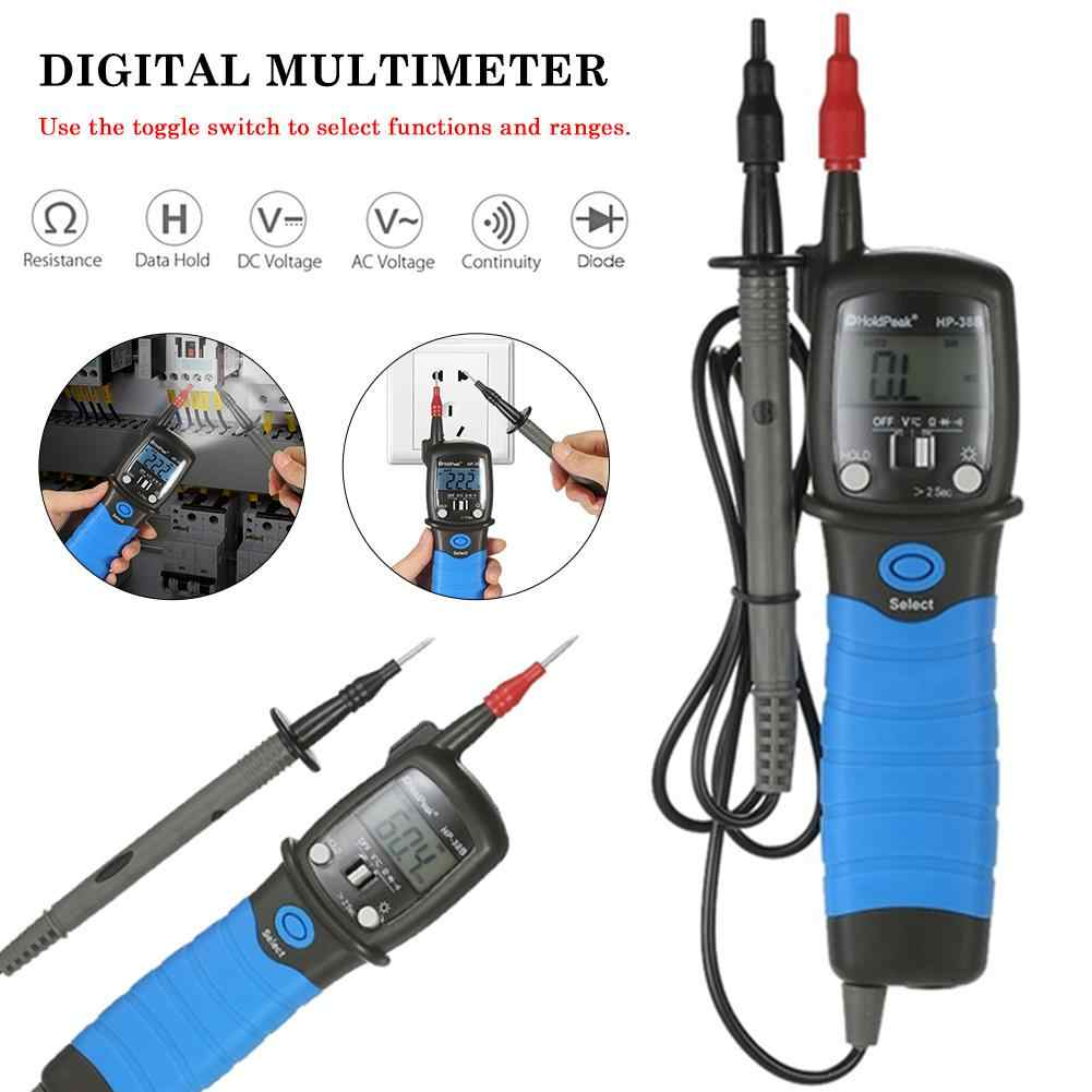 Handheld Multimeter Backlight Voltage Tester Pen Type LCD Digital Multimeter