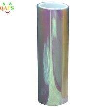 30*60cm camaleão cor em mudança matiz vinil envoltório adesivo farol filme lâmpada de luz do carro