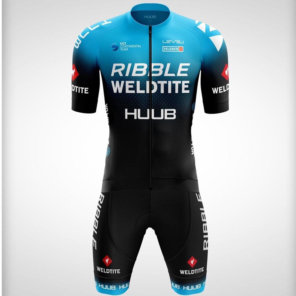 HUUB Men Skinsuit Bicycle Jumpsuit Triathlon Suits Ciclismo Mtb Cycle Clothes Summer Run Bike Cycling Clothing Pro Team Uniform