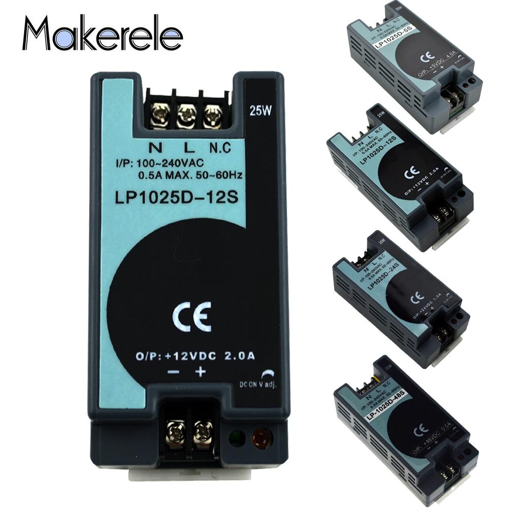 LP Series 25W 50W 100W 150W 300W 500W Din Rail Single Output Switching Power Supply AC DC 5V 12V 24V 48V Switching Power Supply-1