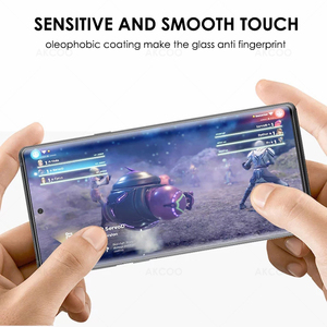 Image 5 - Akcoo หมายเหตุ 10 Protector เต็มรูปแบบ UV แก้วป้องกันฟิล์มสำหรับ Samsung Galaxy S8 9 Plus 10E หมายเหตุ 8 9 5G กระจกนิรภัย