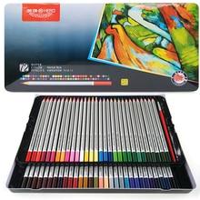 HERO Watercolor Pencils Set Iron Box Rainbow Drawing Colour Pencil Crayon De Couleur Student School Stationery Colored Pencils