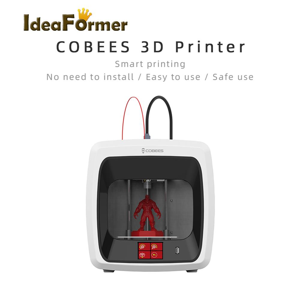 Image 2 - COBEES desktop 3D Printer H bot Structure High Precision Mini FDM 3D Printers Kit for Child Gift Education&Home&Designer-in 3D Printers from Computer & Office