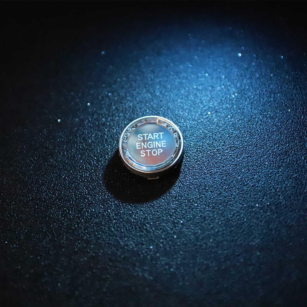 結晶ダイヤモンドエンジンスタートストップボタンカバースイッチアクセサリー Bmw X5 E70 X6 E71 Z4 E89 3 5 シリーズ E90 E60