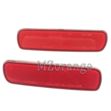 Rear Bumper Reflector light For Toyota Land Cruiser 100/Cygnus LX470 Car auto accessoires Tail Stop Brake light No Bulb mzorange 2pcs led rear bumper reflector light tail brake stop drl fog light lamp for toyota land cruiser for lexus lx470 lantern