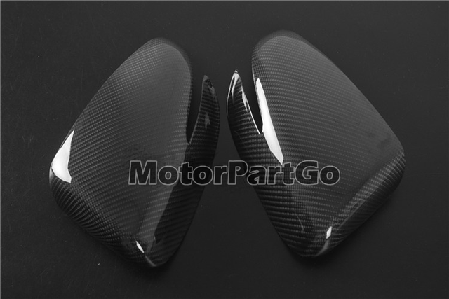 Real Crabon Fiber Mirror Cover 1 pair for  Kia K3 with turn signal 2014-2017 T252M 2