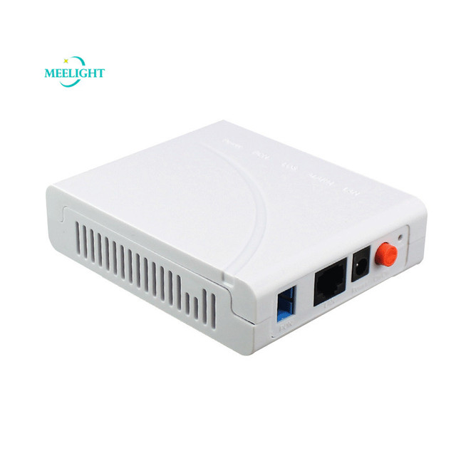 10pcs EPON ONU Home Device Terminal Gigabit Optical Modem FTTH Communication Equipment