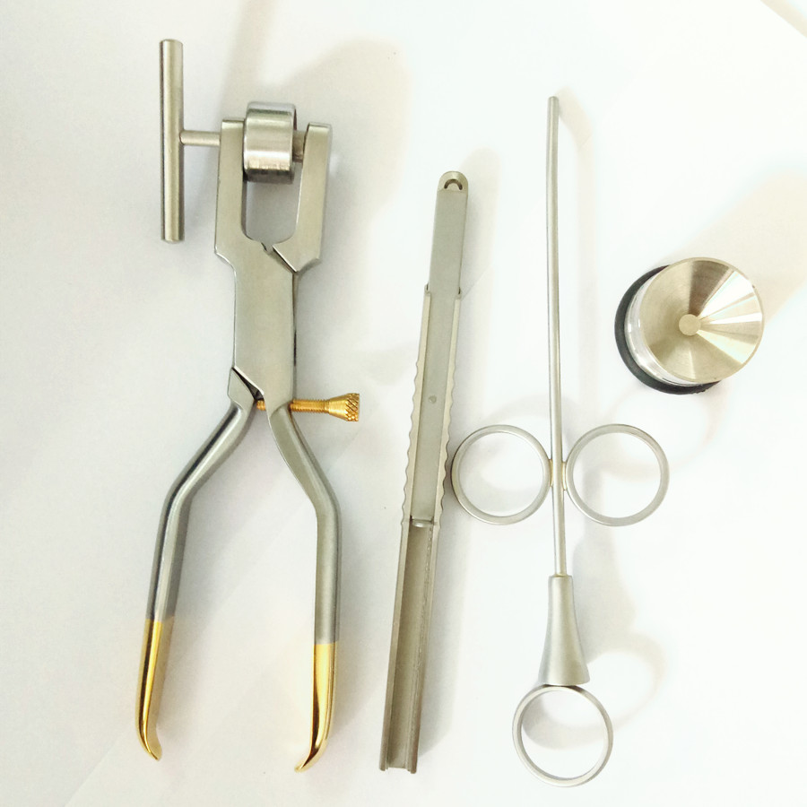 Bone Crusher Bone Mill Bone Morselizer Dental Implant Dental Instruments Stainless Steel