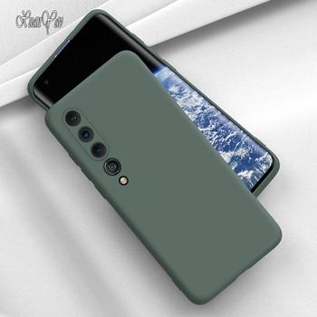 XUANYAO Per Il Caso di Xiaomi Mi 10 Pro Caso Sottile Del Silicone Coque Per Xiaomi Mi 10 Ultra Caso Della Copertura Molle di TPU silicone Xiomi Mi 10 Lite