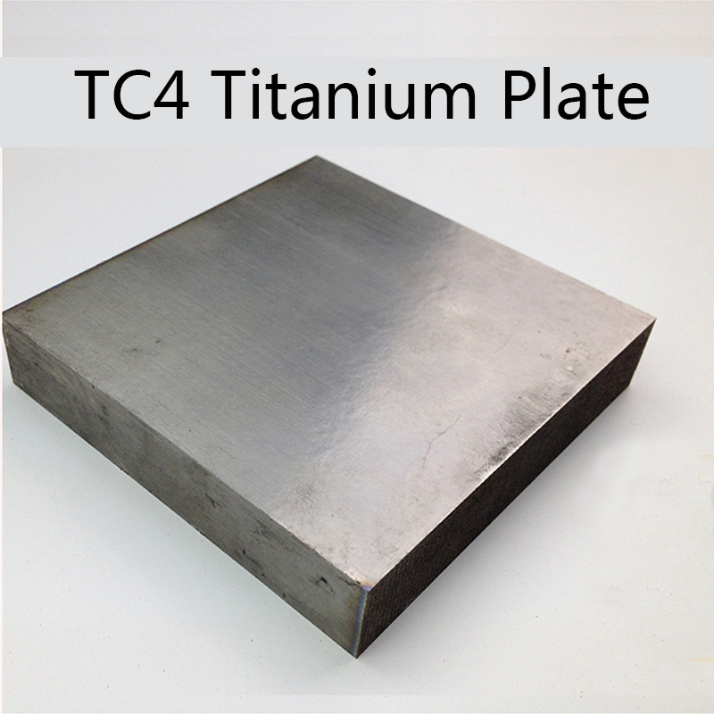 TC4 Thick Titanium Alloy Plate  Ti Sheet Industry Or DIY 100x100mm 150x150mm Thickness 4/5/6/8/10/15/20/25/30/mm