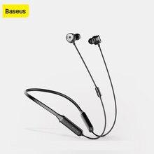 Baseus S15 פעיל רעש בקרת Bluetooth אוזניות אלחוטי אוזניות Bluetooth ספורט אוזניות עם מגנטי עיצוב אוזניות